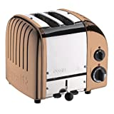 Dualit 2-Bay Classic Toaster kupfer